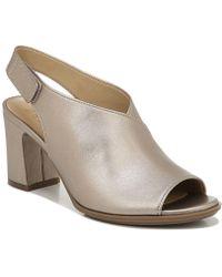 Naturalizer - Preston Peep-toe Dress Sandals - Lyst