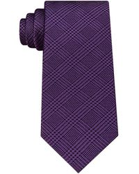 Michael Kors - Men's Kai Check Silk Tie - Lyst