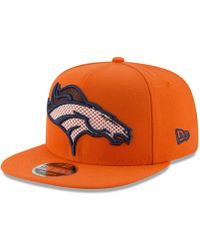 49bca9117 Lyst - Ktz Nfl 16 3930 Denver Broncos Cap in Orange for Men