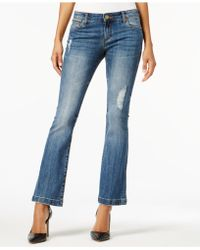 Kut From The Kloth - Petite Chrissy Flare-leg Jeans - Lyst