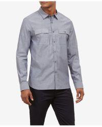 Kenneth Cole - Dynamic Utility Shirt - Lyst