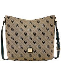 Dooney & Bourke - Signature Quilted Hobo Crossbody, Created For Macy's - Lyst