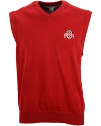 Cutter & Buck - Ohio State Buckeyes Broadview Sweater Vest - Lyst
