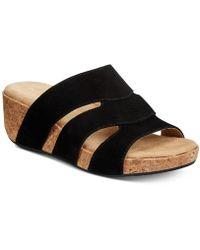 Adrienne Vittadini - Daytona Wedge Sandals - Lyst