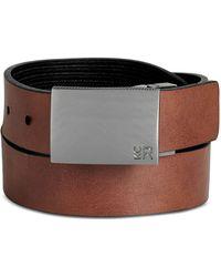 Kenneth Cole Reaction | Reversible Plaque-buckle Belt | Lyst