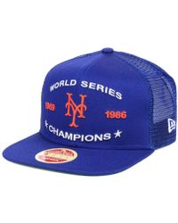 278613f96a8 Lyst - KTZ Girls  New York Mets Disney Tykes Trucker 9twenty Cap in ...