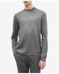 Calvin Klein - Mock-neck Sweater - Lyst