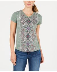 Style & Co. - Petite Graphic-print T-shirt, Created For Macy's - Lyst