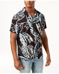 Guess - Palm Tree Shirt - Lyst