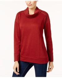 Style & Co. | Petite Funnel-neck Sweatshirt | Lyst
