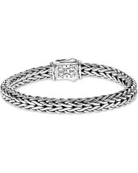 Scott Kay - Woven Link Bracelet In Sterling Silver & 18k Gold - Lyst