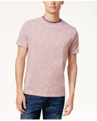 Vince Camuto - Men's Heathered T-shirt - Lyst