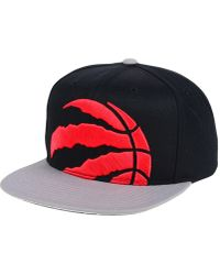 sale retailer 8217a c0d27 Mitchell   Ness Vancouver Grizzlies Patent Cropped Snapback Cap in Black  for Men - Lyst