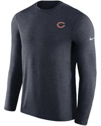 Nike - Chicago Bears Coaches Long Sleeve Top - Lyst