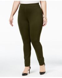 Style & Co. - Plus Size Seamed Leggings - Lyst