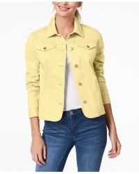 Charter Club - Denim Jacket, Created For Macy's - Lyst