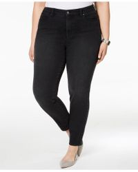 Charter Club - Plus Size Windham Tummy-control Skinny Jeans, Created For Macy's - Lyst