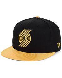timeless design 1e8a6 91051 Nike Portland Trail Blazers Aerobill Classic99 Adjustable Nba Hat (black)  in Black for Men - Lyst