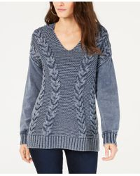 INC International Concepts - I.n.c. Mixed-stitch Hoodie Jumper, Created For Macy's - Lyst