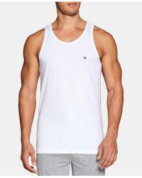 0275fdb49c6f Men's Tommy Hilfiger Sleeveless t-shirts On Sale - Lyst