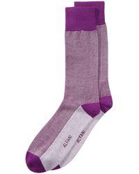 Alfani - Piqué Solid Dress Socks, Created For Macy's - Lyst