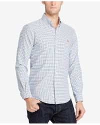 Polo Ralph Lauren - Men's Checked Oxford Shirt - Lyst