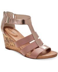 Alfani - Pearrl Wedge Sandals, Created For Macy's - Lyst