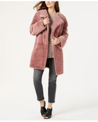 Style & Co. - Faux-fur Teddy Coat, Created For Macy's - Lyst