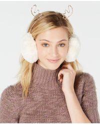 Charter Club - Rhinestone Reindeer Earmuffs, Created For Macy's - Lyst