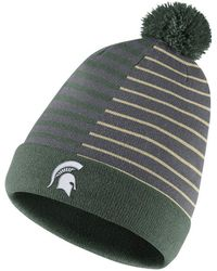 7df966f1 Marc Jacobs Redux Grunge Collection Striped Cotton Beanie Hat in Green for  Men - Lyst