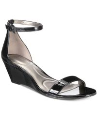 Bandolino - Omira Wedge Sandals - Lyst