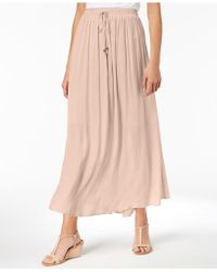Style & Co. - Tie-front Maxi Skirt, Created For Macy's - Lyst
