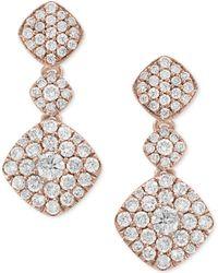 Effy Collection - Diamond Drop Earrings (1-1/4 Ct. T.w.) In 14k Rose Gold - Lyst