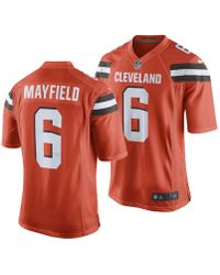 b04b1d04f Nike Men S Johnny Manziel Cleveland Browns Limited Jersey in White ...