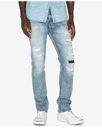 Silver Jeans Co. | Konrad Slim Fit Ripped Jeans | Lyst