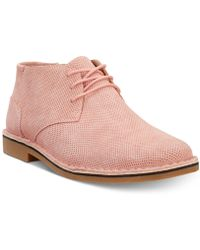 Kenneth Cole Reaction - Desert Sun Perforated Chukka Boots - Lyst