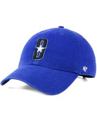 buy online 4e4e3 13c6a 47 Brand Los Angeles Clippers Mash Up Clean Up Cap in Blue for Men - Lyst