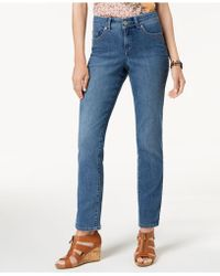 Style & Co. - Petite Tummy-control Straight-leg Jeans, Created For Macy's - Lyst