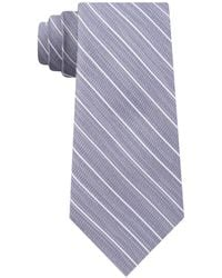 DKNY - Stripe Slim Tie - Lyst