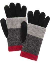 Steve Madden - Multi Stripe Purl Knit Itouch Glove - Lyst