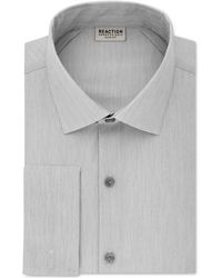 Kenneth Cole Reaction - Men's Slim-fit Techni-cole Stretch Performance French-cuff Dress Shirt - Lyst