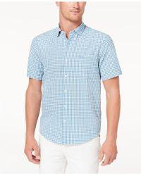 Tommy Bahama - Key Largo Check Pima Cotton Seersucker Shirt - Lyst