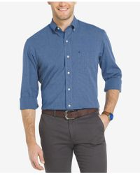 Izod - Men's Essential Shirt - Lyst