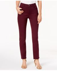 Style & Co. - Tummy-control Slim-leg Jeans, Created For Macy's - Lyst