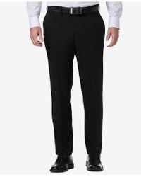 Kenneth Cole Reaction - Technicole Slim-fit Performance Tech Pocket Dress Trousers - Lyst