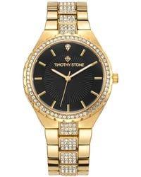 Timothy Stone - 'gala' Crystal Adorned Bezel Bracelet Watch - Lyst
