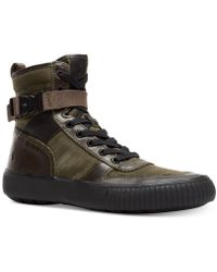 Frye - Combat Lace-up Trainers - Lyst