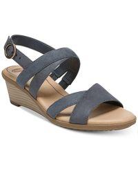 Dr. Scholls - Grace Wedge Sandals - Lyst