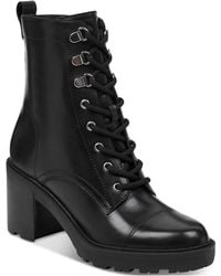 Marc Fisher - Lanie Lace-up Hiker Booties - Lyst