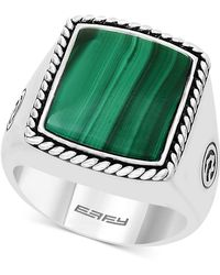Effy Collection - Malachite Ring In Sterling Silver - Lyst